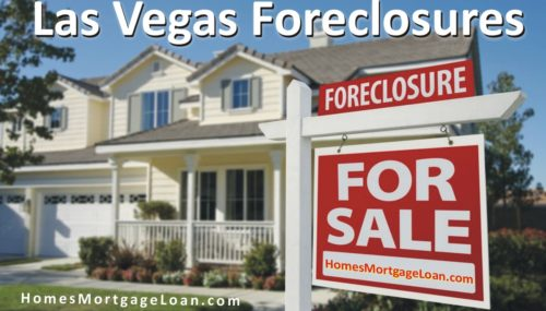 Las Vegas Foreclosures: Get 'Em While They're Scorching!