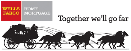 Wells Fargo Mortgage Official Logo With Slogan Homes Mortgage Loan